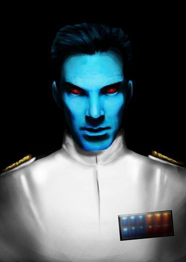 I wholeheartedly agree that Benedict Cumberbatch would be an amazing Grand Admiral Thrawn!!! By Archangel3550
