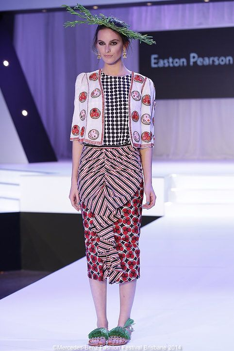 These skirts were a standout on the Easton Pearson runway at MBFF.