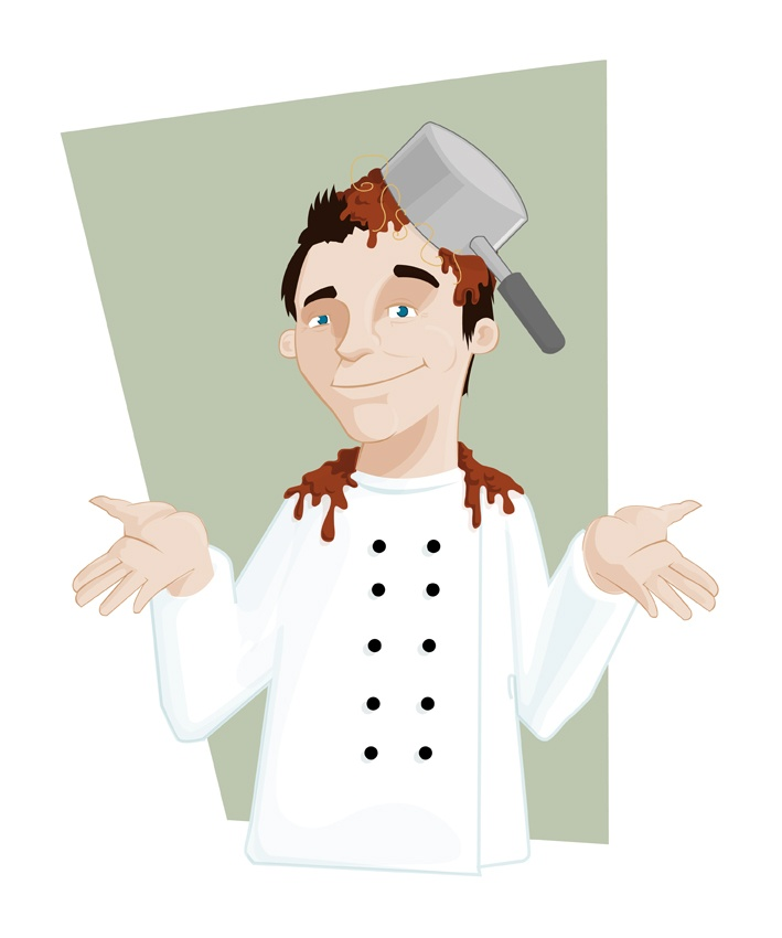 Chef Character #illustration
