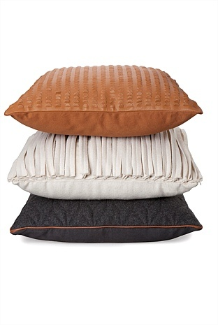 Love the top cushion in suede from country road