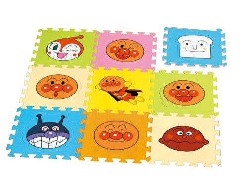 ANPANMAN Soft Puzzle Mat by ?????? ?????????? ???????. $34.97. Anpanman character type has become second puzzle mats. Or lay on the floor, it is a soft material that can be assembled or in a box shape. 31cm one is the size of the mat.