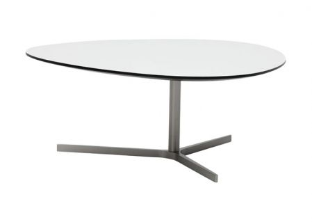 ILVA - Bord - Pauli. ilva.se. vit laminat med svart kant i två olika storlekar