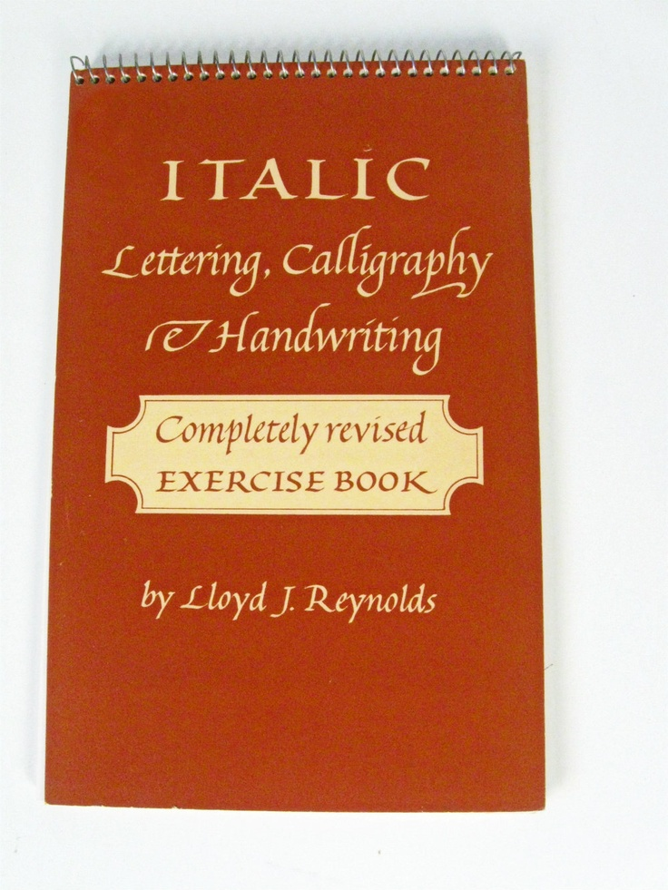 17 Best Images About Lloyd Reynolds Calligraphy On