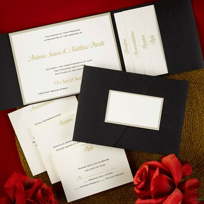 Inviting Pocket Wedding Invitations By Invites Couture. Wedding Invitations  With Pockets Enclose Your Invitation Suite Perfectly In Pocket Wedding ...