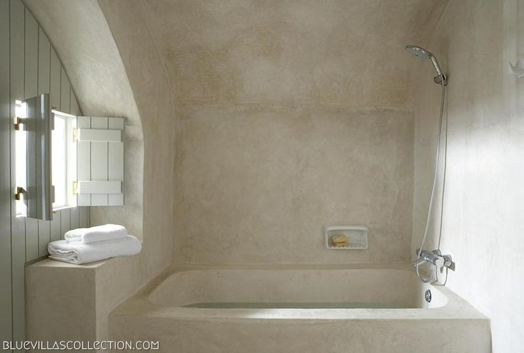 Villa Fabrica - Bath | Luxury Santorini Villas | Blue Villas Collection