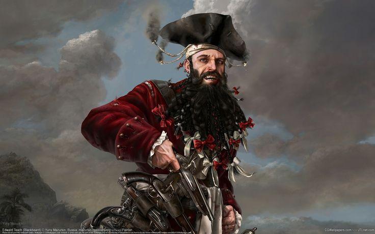 Pirata do Mês - Barba Negra