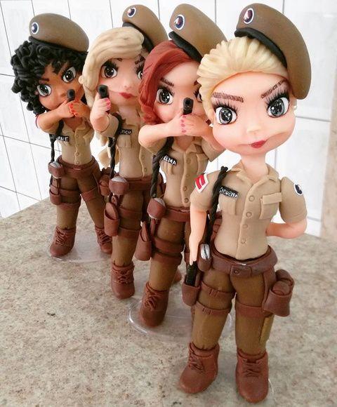 Topo de Bolo Policia Militar