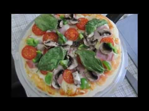 How To Make Omelette Pizza - آموزش درست کردن پیتزای املت