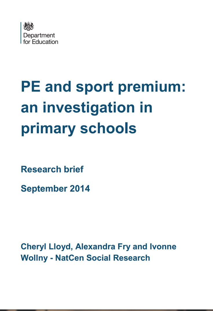 An investigation of PE (Physical Education) in British Primary Schools
