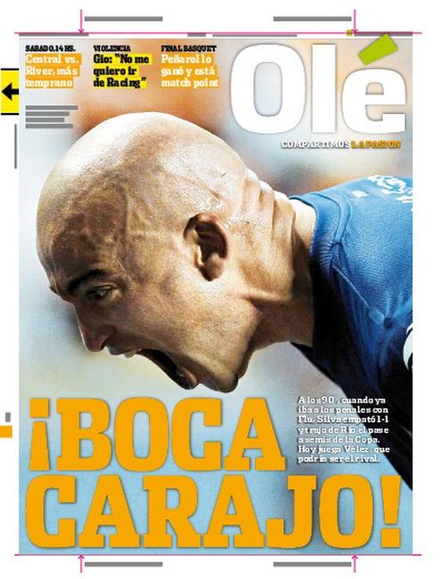 Ole | Diario Deportivo - Flumienense 1 vs Boca 1 - Boca pasa a Semis de la Copa