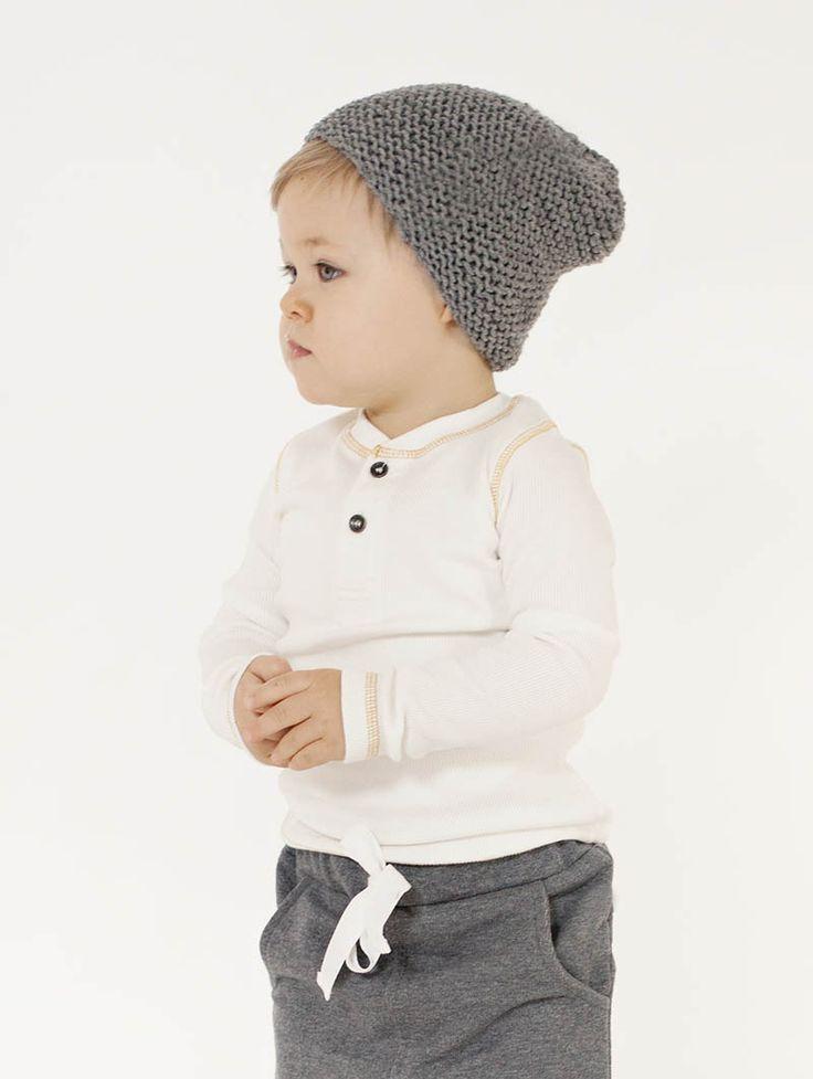 merino beanie and harem pants #kidsclothing #merino