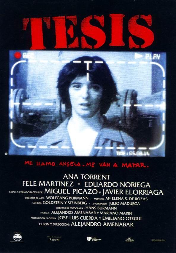 Tesis, la ópera prima de Amenábar !!!