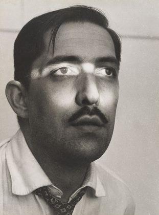 Geraldo de Barros. Self Portrait. 1949