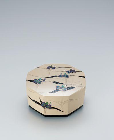 乾漆螺鈿蒔絵飾箱「朝露」