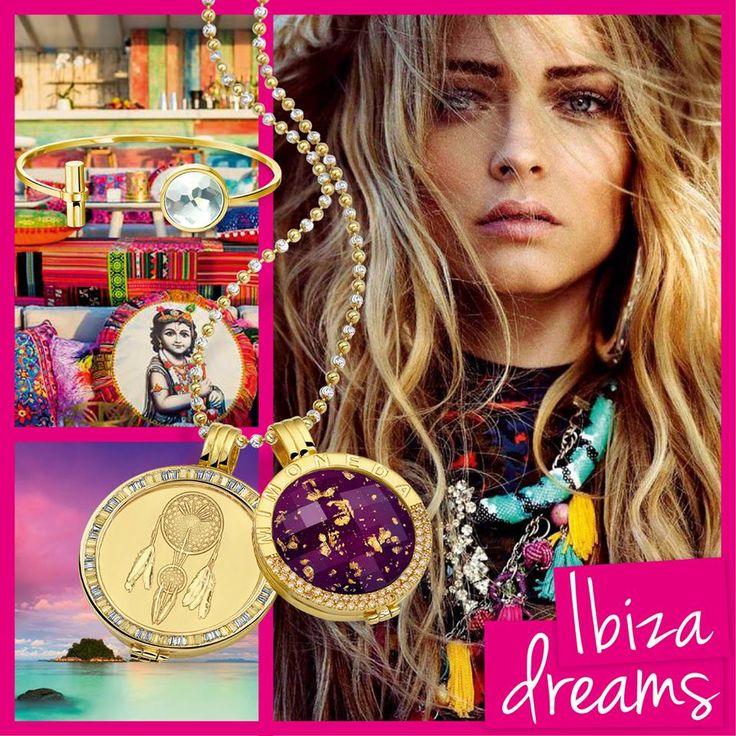 Ibiza dreams - Mi Moneda munt en pendant