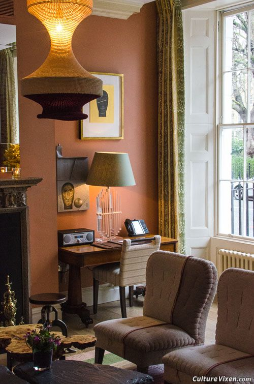 The drawing room at Dorset Square #Hotel in #London, @Firmdale_Hotels