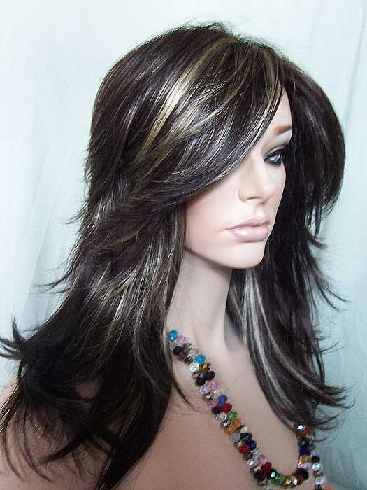 Dark Brown Hair With Frosted Highlights Find Your Perfect Hair Style