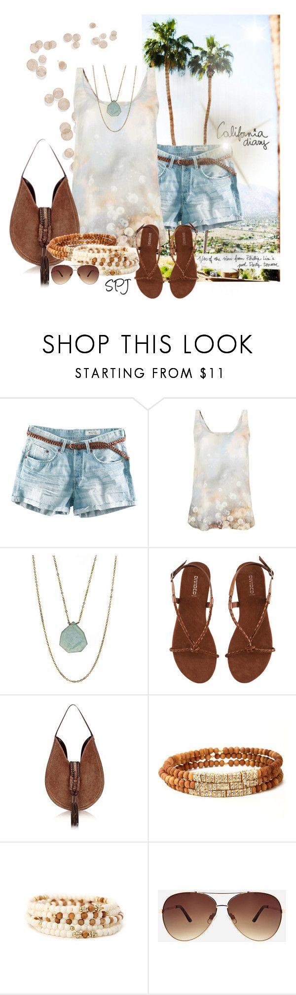 """""""California Diary"""" by s-p-j ❤ liked on Polyvore featuring Garance Doré, H&M, Paul Smith, GIGIchic, Altuzarra and Ashley Stewart"""