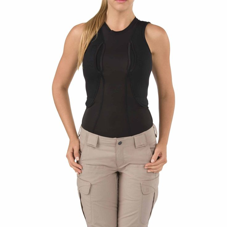 Purpose BuiltA 5.11 Tactical® exclusive item, the Sleeveless Women's Holster Shirt™