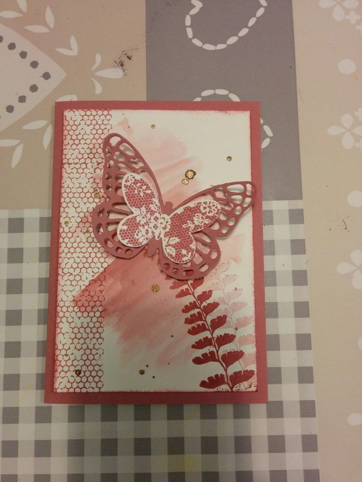 Sweet Sugerplum In Color 2016 - 2018 Butterfly Basics - Het Knutsellab - Stampin Up #stampinup #crafts #knutselen #stempelen