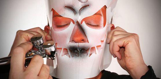 #Halloween | Airbrush Schablonen