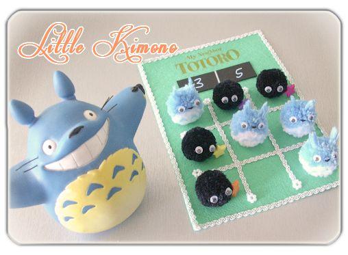 "❣ Little Kimono Handmade ❣ : Reto Handmade #5 · ""3 en raya"" Pompoms · Pom pom · Pompones"
