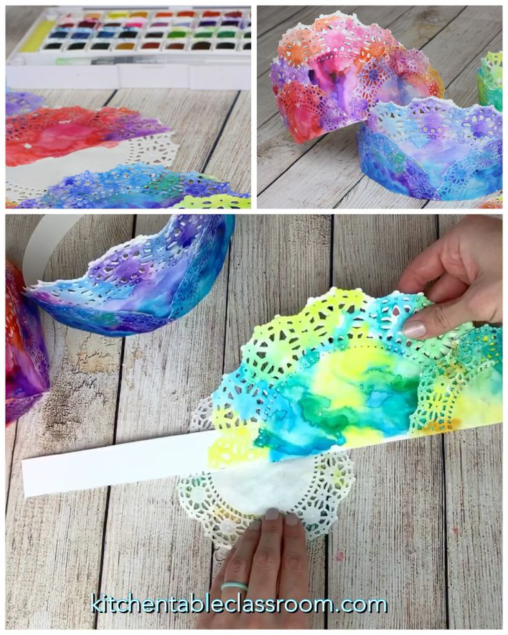Painted Crowns- Colorful DIY Paper Crowns – The Kitchen Table Classroom
