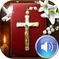 Holy Rosary Audio by HANDECH INTERNATIONAL LIMITED • This is my FAVORITE Rosary app. (iPhone & iPad). My whole family loves it, too. Each decade has meditations. Please check it out! ❤️ Ave Maria, Gratia Plenae Dominus tecum!