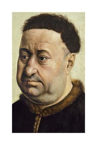 ROBERT CAMPIN, ritratto di Robert de Masmines, 1425