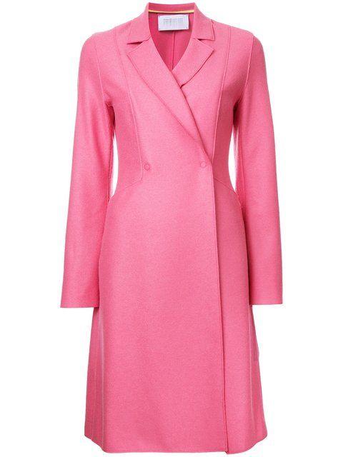 HARRIS WHARF LONDON Flared Coat. #harriswharflondon #cloth #coat
