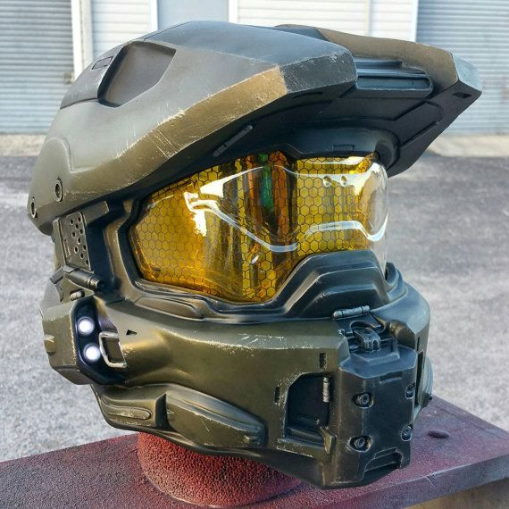 Ultimate Halo 4 Master Chief Helmet Replica Padded and