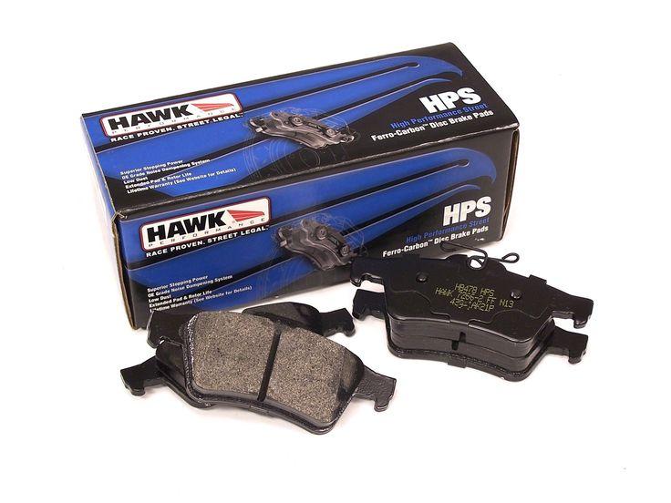 Hawk HPS Rear Disc Brake Pads - Ford Focus 2012-2016, Mazda 3/5 2006-2014