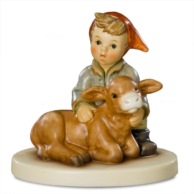 M.I.Hummel Figurine - Cuddly Calf