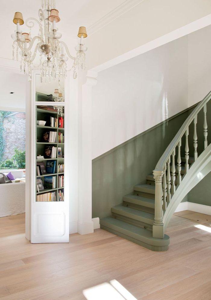▷ 1001 + idées et conseils pour un escalier peint relooké ...