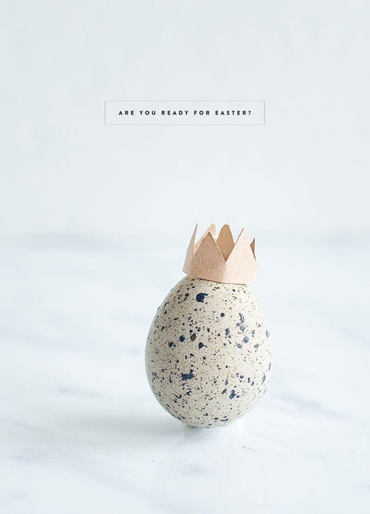 crown easter egg