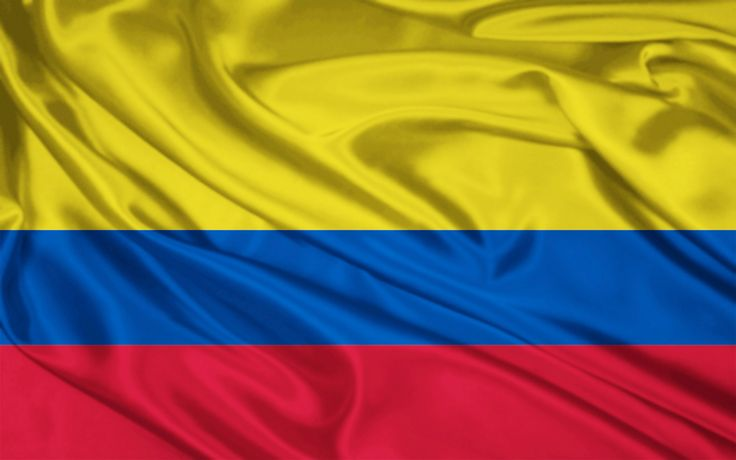 Flag: In this picture it shows a colombian flag. Yellow on the flag represents the gold that is one of their big exports. Blue on the flag symbolizes all of the oceans and seas in Colombia. Red represents the blood of the soldiers that got Colombia its freedom.