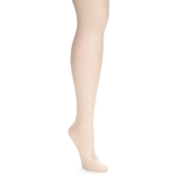 Berkshire Hosiery Silver The Skinny No Waistband Pantyhose ($11) ❤ liked on Polyvore featuring plus size women's fashion, plus size clothing, plus size intimates, plus size hosiery, plus size tights, silver, silver stockings, pantyhose tights, sheer tights and sheer stockin
