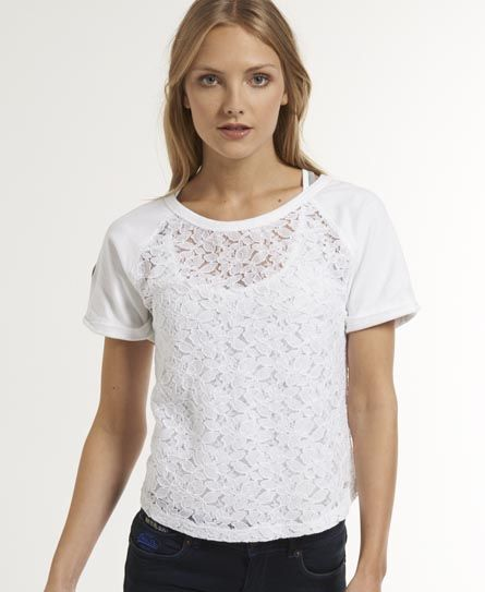 Superdry Hyper Lace T-shirt $70.00  http://bit.ly/1gO8WSg