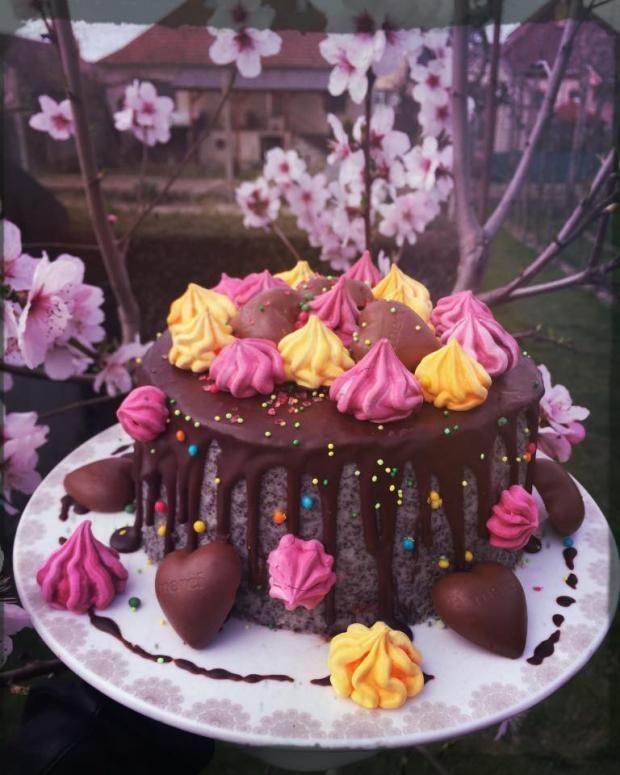Pusinková funky torta , narodeninové torty | Tortyodmamy.sk