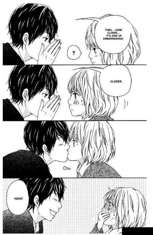 When do you kiss