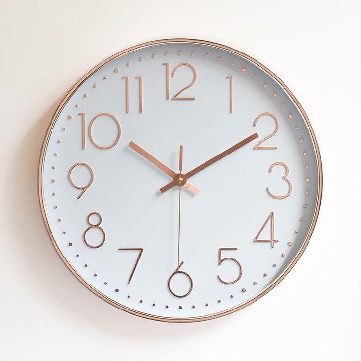 Affordable pas cher mur silencieux horloge quartz muet moderne mur montre diy antique designer for Horloge de cuisine pas cher