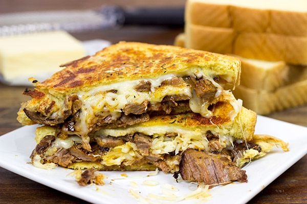 smoked brisket grilled cheese grilled sandwich sandwich recipes smoked ...
