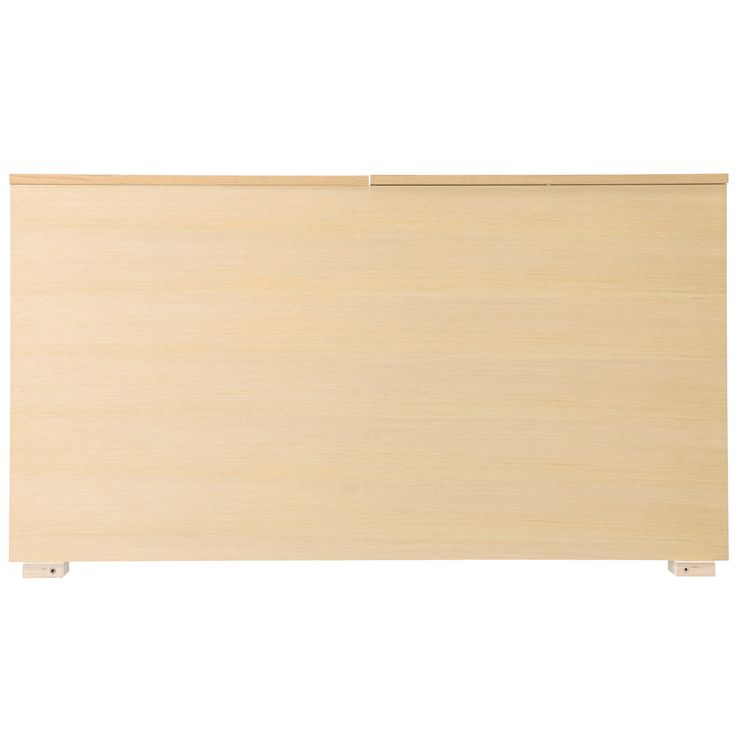 収納ベッド用ヘッドボード・ボックス型・スモール・オーク材 幅88.5×奥行14×高さ83cm | 無印良品ネットストア