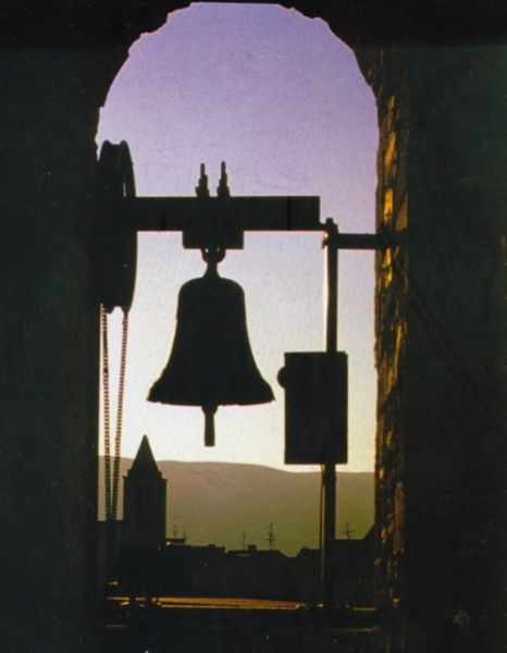 vista da un campanile di Agnone