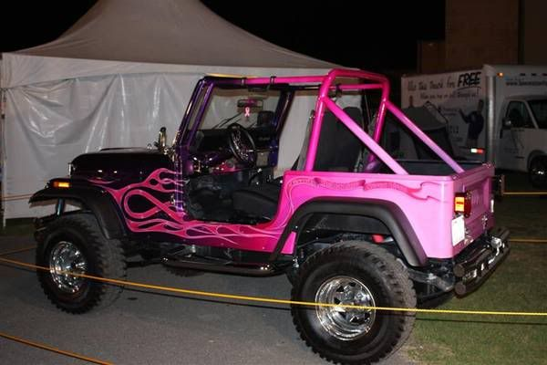 Black and pink Jeep Wrangler | Pictures w/ PINK Accessories, Decals, etc - JeepForum.com