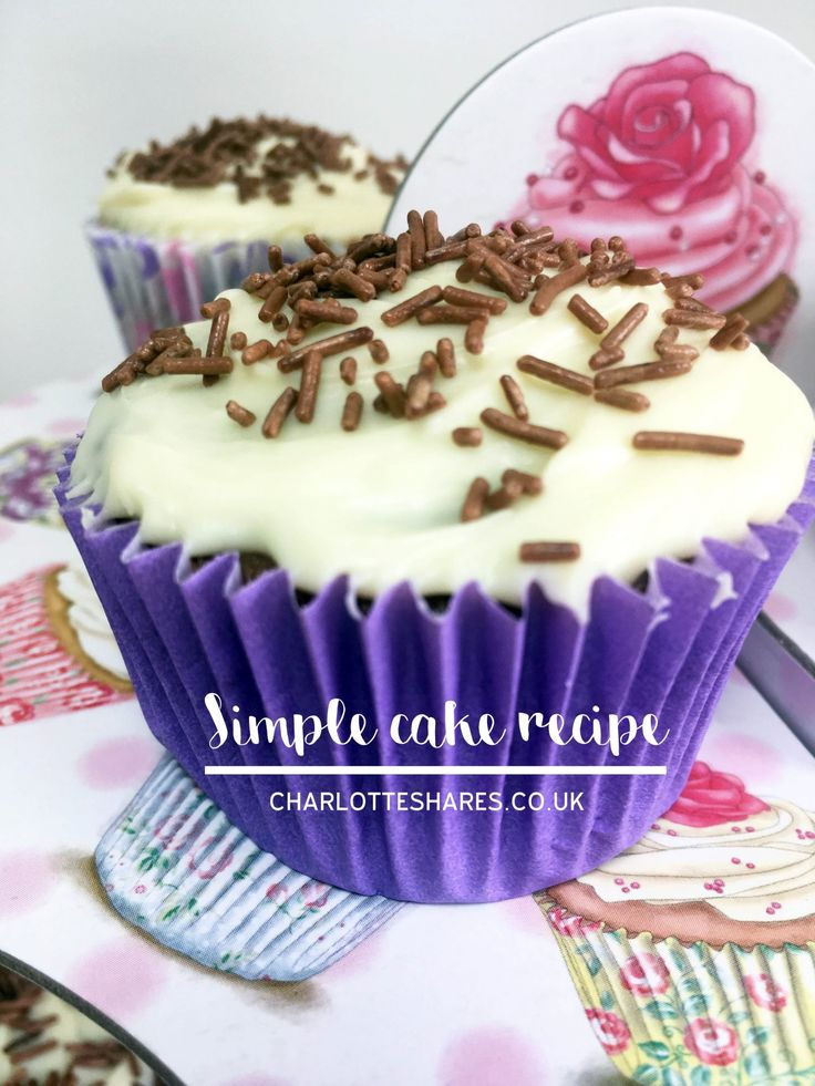 quick and simple chocolate fairy cakes #baking #simplebaking #cakes #foodbloggers