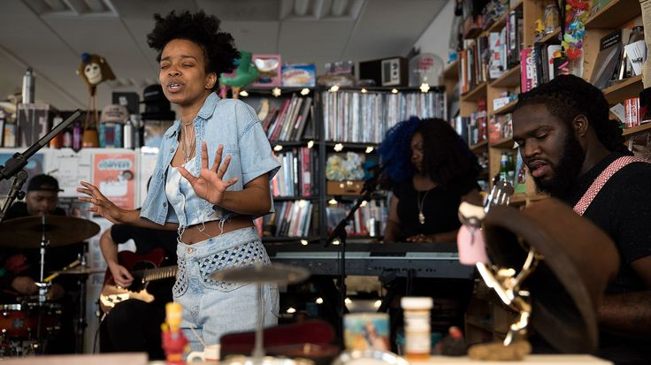 In three songs celebrating black ancestry and self-love, Woods demonstrated just how adept she is at creating songs rich with philosophical meaning that also move and groove.