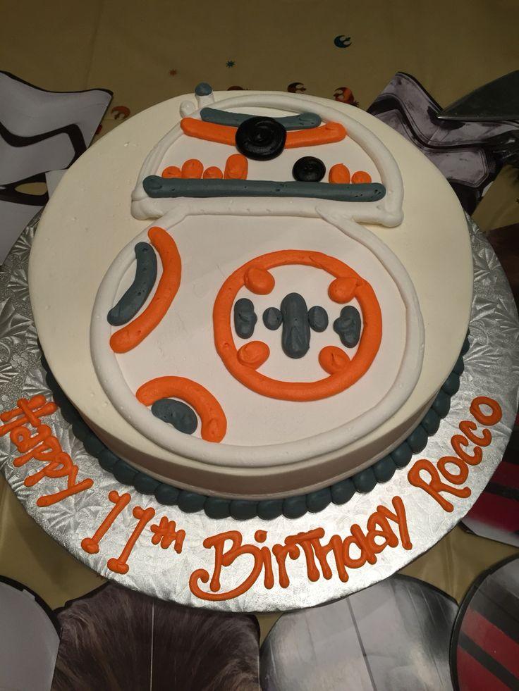 BB8- Star Wars birthday cake