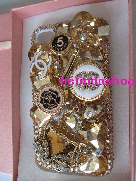 Rhinestone iphone 4 case,bling iphone 5 case,flower iphone 4s cover handmade,samsung galaxy s3 case, samsung galaxy s4 case