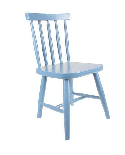 Silla infantil retro azul antracita en Deco & Living -http://www.decoandliving.com/tienda/109-sillas-infantiles